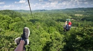 Take A Ride On The Longest Zipline In West Virginia At Adventures On The Gorge
