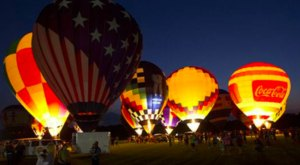Light Up Your Night At The Ascension Hot Air Balloon Festival Near New Orleans
