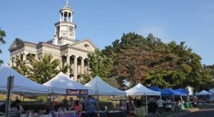 The Old Court House Fall Flea Market In Mississippi Attracts People From All Over The Country