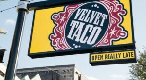 Try 20 Different Types Of Tacos At Velvet Taco In Georgia