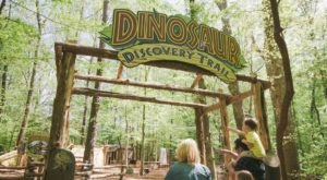 Walk Among Dinosaurs When You Take The Interactive Nature Trail At The Virginia Living Museum