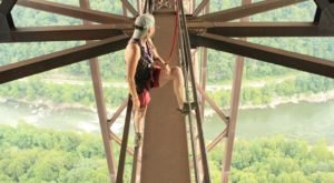 Take The Stomach-Dropping New River Gorge Bridge Walk In West Virginia