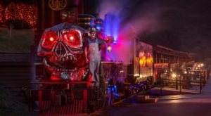 Climb Aboard North Carolina's Ghost Train At Tweetsie Railroad For A Spooktacular Ride
