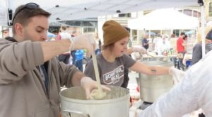 Hop Aboard New York's Chowder Trolley And Warm Up This Fall At The Troy Chowderfest