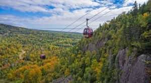 You Won't Find A Better Way To See Minnesota's Fall Colors Than The Summit Express Gondola