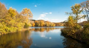 Surround Yourself With Fall Foliage At Radnor Lake, With An Easy 2-Mile Hike Near Nashville