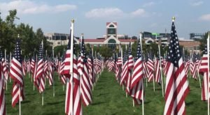 Stroll Through More Than 3,000 Flags To Remember 9/11 At The Utah Healing Field 9/11 Memorial