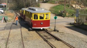Ride The Rails In A Historic Trolley Car On The Craggy Mountain Line In North Carolina