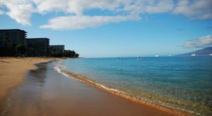 Ka'anapali Beach Has Some Of The Clearest Water In Hawaii