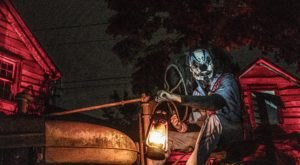 The Two-Story Scare House At Nightmare Dungeon In South Carolina Is Filled With Gruesome Images