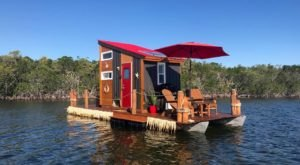 Go Glamping On The Ocean In A Charming Floating Cabin In The Middle Of The Florida Keys