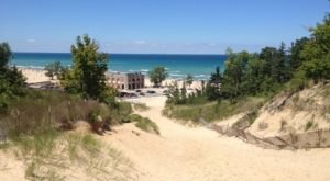 Climb The Highest Sand Dunes On The 1.5-Mile Indiana Dunes National Park Trail