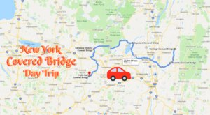 This Day Trip Takes You To 5 Of New York's Covered Bridges And It's Wonderful For A Scenic Drive