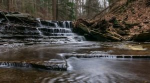 The Hike To Stoneybrook Falls Near Cleveland Is Short And Sweet