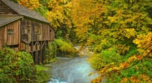 Fall Is The Ideal Time To Visit The Cedar Creek Grist Mill In Washington
