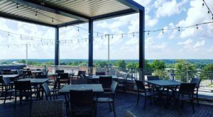 The Photo-Worthy Views At Bridges Craft Pizza & Wine Bar In Indiana Make Any Meal Extraordinary