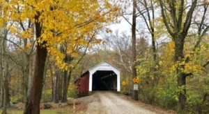 Here Are 7 Of The Most Beautiful Indiana Covered Bridges To Explore This Fall