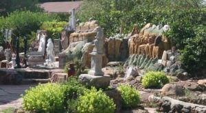Florence Deeble's Rock Garden In Kansas Is A Work Of Art