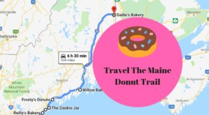 Take The Maine Donut Trail For A Delightfully Delicious Day Trip