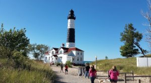 The Big Sable Point Lighthouse Walk In Michigan Offers Spectacular Views