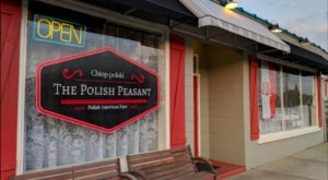 You'll Find All Sorts Of Old World Eats At The Polish Peasant, A Polish Restaurant In Indiana