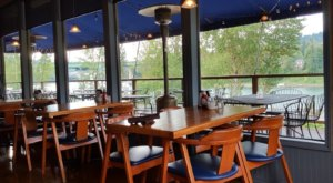 Dine Right On The Willamette River At The Beautiful Rivershore Bar & Grill In Oregon