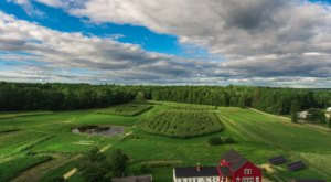 Get Lost In The Coppal House Farm 3-Acre Corn Maze In New Hampshire This Autumn