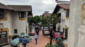 Visit Old World Village, A Charming Village Of Shops In Southern California