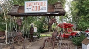 Swetsville In Colorado Is One Of The Most Unique Zoos In America