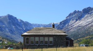 You Can Sleep Inside The Historic Stone Schoolhouse In Montana