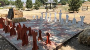 Seek Out This Weird Hidden Gem, Heritage Park Gardens, In Nevada That Few People Know About