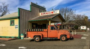 Drive Out To This 19th-Century Country Store, Jimtown, In Northern California And Make Your Stomach Happy