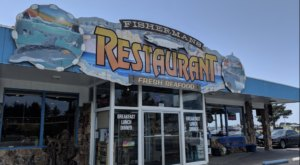 The Plates Are Piled High With Seafood At The Delicious Fisherman's Restaurant In Northern California