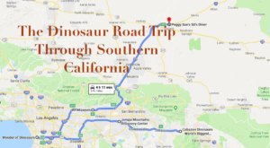 The Dinosaur Themed Road Trip In Southern California That Is The Perfect Weekend Adventure