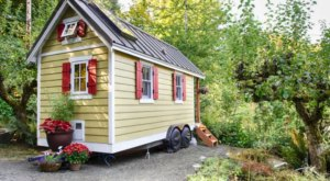 Meet The Tiny House In Washington That Comes With Its Own Private Beach