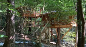 The Looking Glass Treehouse Is The Newest Way To Experience The Beauty Of Red River Gorge In Kentucky