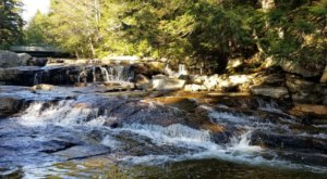 You Can Practically Drive Right Up To The Beautiful Jackson Falls In New Hampshire