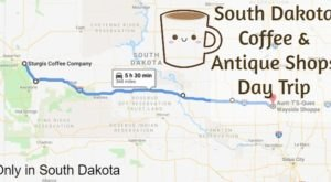 The Unique South Dakota Day Trip That Combines The Best Coffee And Antique Shops