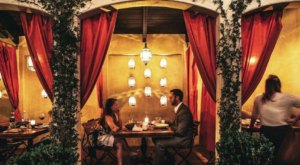 Dine Under A Cozy Cabana At Firefly Restaurant In Southern California