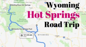 Embark On Wyoming's Hot Springs Road Trip For A Relaxing Autumn Adventure
