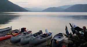 Camp On The Shores Of Priest Lake At The Wonderfully Remote Plowboy Campground In Idaho