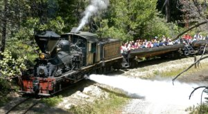 This Open Air Train Ride At Yosemite Mountain Sugar Pine Railroad In Northern California Is A Scenic Adventure