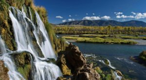 Fall Creek Falls In Idaho Will Soon Be Surrounded By Beautiful Fall Colors