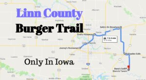 Embark On The Linn County Burger Trail In Iowa For A Delicious Experience