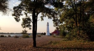 Lighthouse Park Is One Of The Most Spectacular Places To Watch The Sun Rise In Michigan