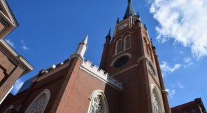 Cathedral Of The Assumption In Kentucky Is A True Work Of Art