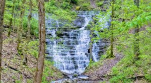 There's A Secret Waterfall Near Nashville Known As The West Meade Waterfall, And It's Worth Seeking Out