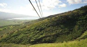Take A Ride On The Longest Zipline In Hawaii At Flying Hawaiian Zipline