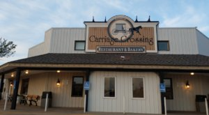 Eat Cinnamon Rolls As Big As Your Head At Carriage Crossing in Kansas