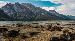 Find Some Of The Clearest Water In Wyoming At Jenny Lake